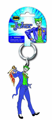 DC The Joker Soft Touch PVC Key Ring
