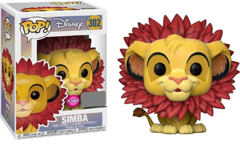 POP The Lion King Simba Leaf Mane Vinyl Figure
