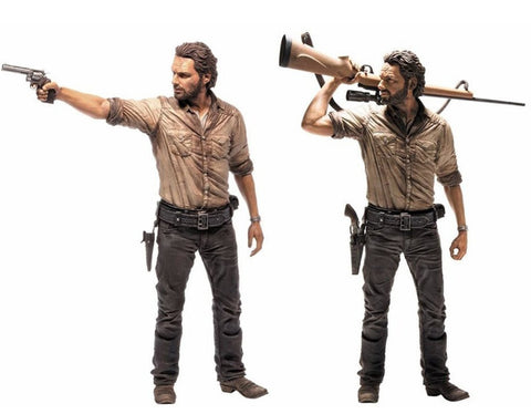 Walking Dead Rick Grimes Deluxe Action Figure
