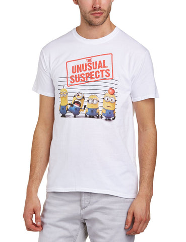 Despicable Me 2 Usual Suspects T-Shirt White
