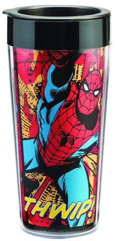 Marvel Spider Man Plastic Travel Mug