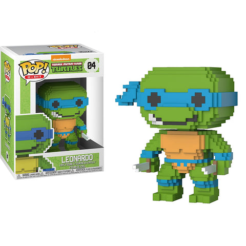 Funko POP! Teenage Mutant Ninja Turtles Leonardo 8-Bit Vinyl Figure