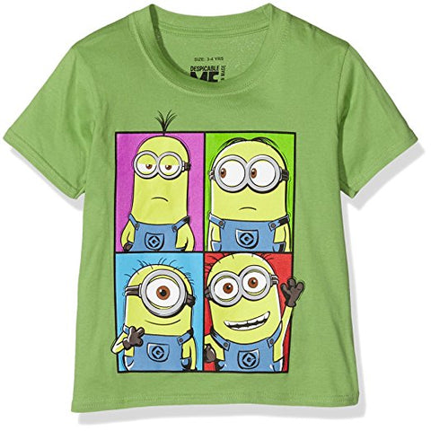 Minions Boy's Short Sleeve T-Shirt