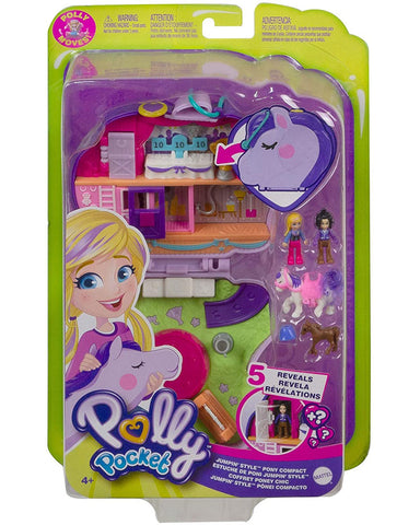 Polly Pocket Flip & Reveal Compact Assorted 1 pcs