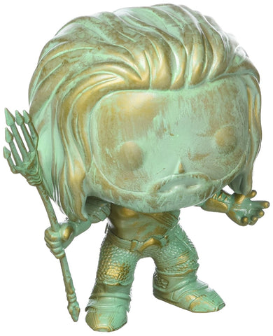 POP BvsS Aquaman Patina Vinyl Figure