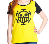One Piece Trafalgar Law Women's Yellow T-Shirt