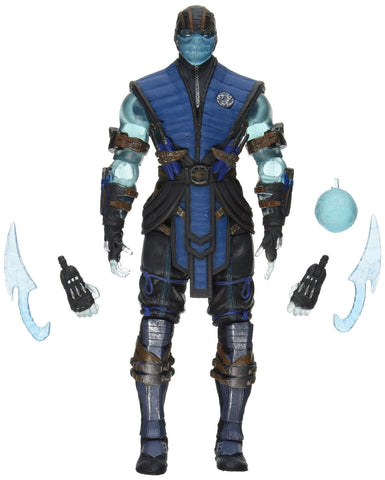 Mortal Kombat X Sub Zero Ice Ver Fig Exclusive