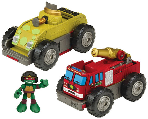 Teenage Mutant Ninja Turtles Half Shell Mutations Raphael Mutating Vehicle