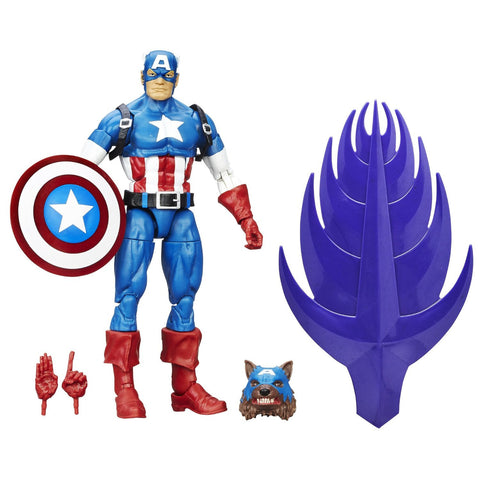 Legends CW Captain America Action Figure
