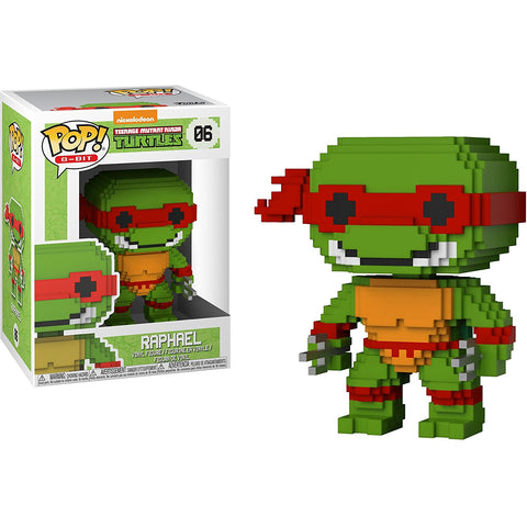 Funko POP! Teenage Mutant Ninja Turtles Raphael 8-Bit Vinyl Figure