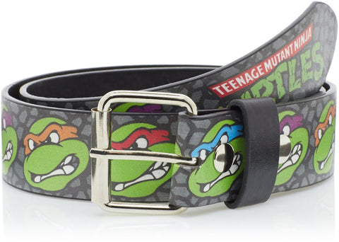 Turtles Faces Logo Printed Belt