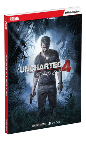 Uncharted 4 Standard Edition Game Guide