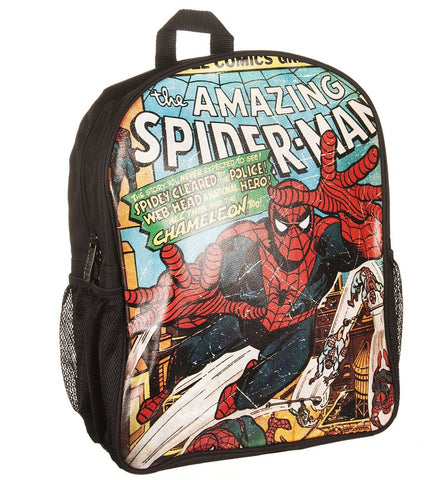 Spider-Man Marvel Comics Close Up Collection Backpack