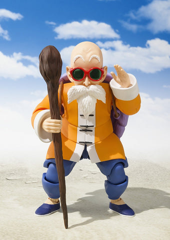 SH Figuarts Dragon Ball Z Master Roshi Action Figure