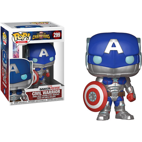 Funko POP! Civil Warrior Marvel: Contest of Champions Vinyl Figure