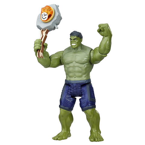Avengers: Infinity War Hulk with Infinity Stone Action Figure