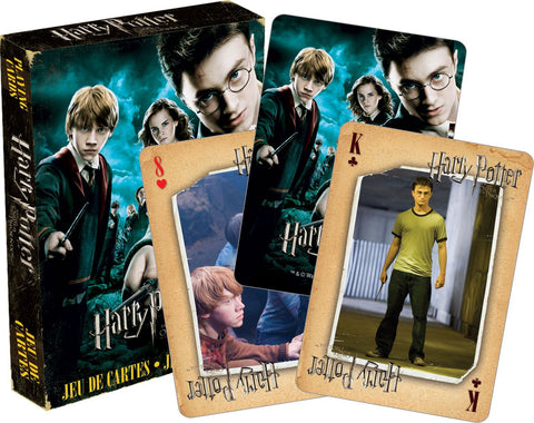 Harry Potter & The Order of The Phoenix Playing Cards