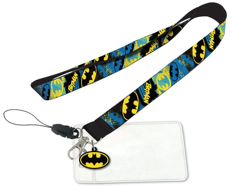 DC Batman Soft Touch Dangle Lanyard