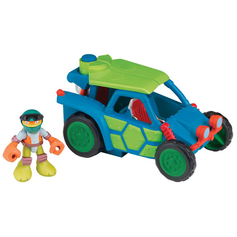 Teenage Mutant Ninja Turtles Half Shell Dune Buggy with Michelangelo Vehicle