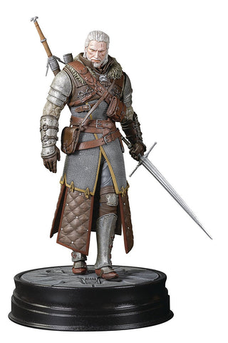 "The Witcher 3 Wild Hunt Geralt Grandmaster Ursine Armor 9.5"" Figure"