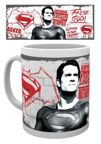 Batman V Superman False God Mug