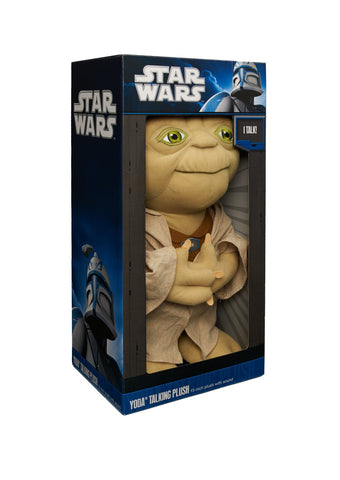 Star Wars Yoda Deluxe Talking Plush 15 Inch