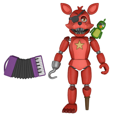 "Five Nights at Freddy's Pizza Simulator Rockstar Foxy 5"" Action Figure"