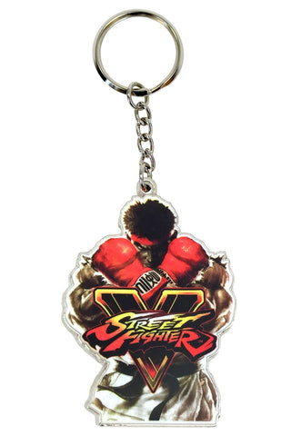 Street Fighter V Ryu Key Ring