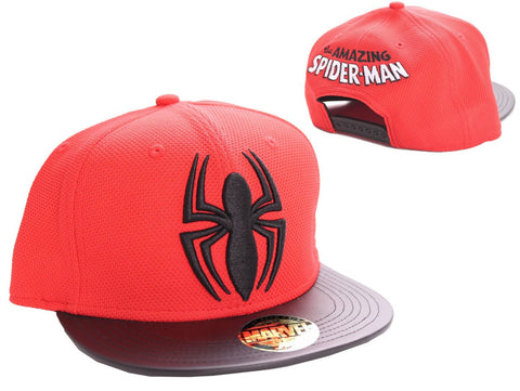 Spiderman Logo Cap Red