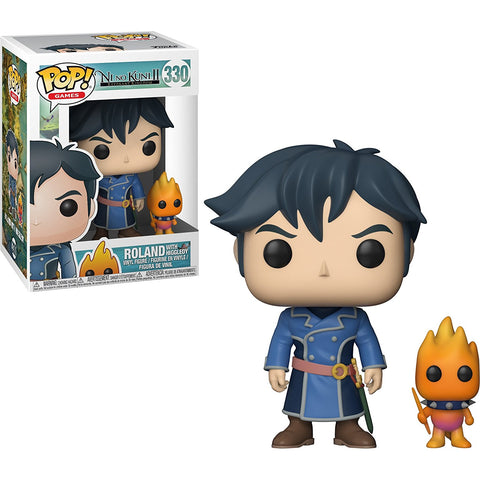 Funko POP! Ni No Kuni 2 Roland with Higgledy Vinyl Figure