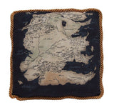 Game of Thrones Westeros South Map Pillow