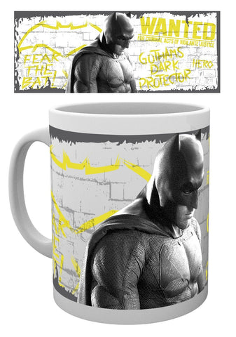 Batman V Superman Wanted Mug