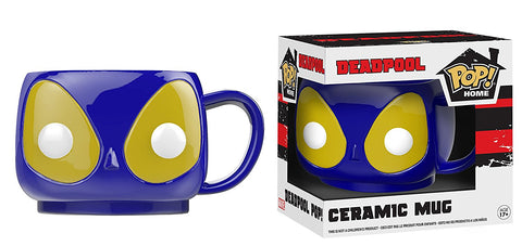 Funko Pop Home Blue Deadpool Ceramic Mug