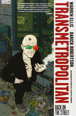 Transmetropolitan V.1 Back on the Street