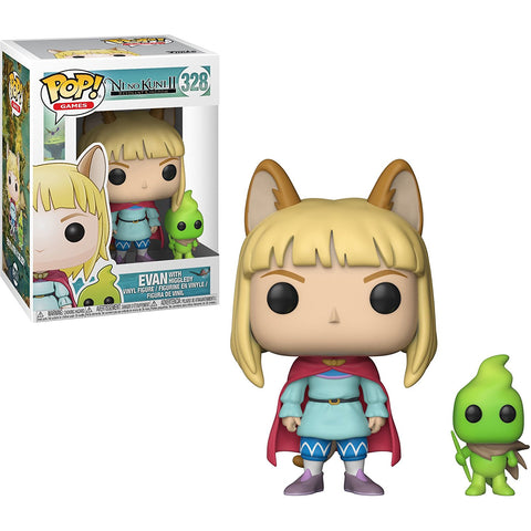 Funko POP! Ni No Kuni 2 Evan with Higgledy Vinyl Figure