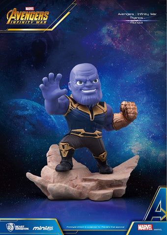 Beast Kingdom Avengers Infinity War Thanos Mini Egg Attack Statue