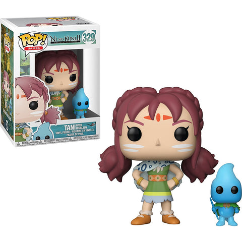 Funko POP! Ni No Kuni 2 Tani with Higgledy Vinyl Figure