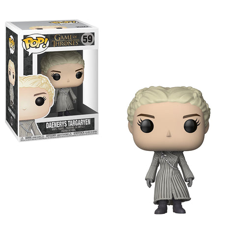Funko POP Game of Thrones Daenerys White Coat Vinyl Figure