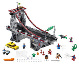 Lego Super Heroes SpiderMan Web Warriors Ultimate Bridge