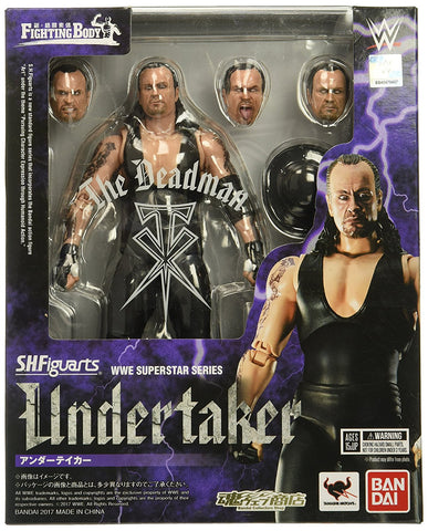 Bandai Tamashii Nations S.H.Figuarts Undertaker Wwe Action Figure