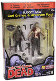 Walking Dead S4 Carl Grimes & Abraham Ford