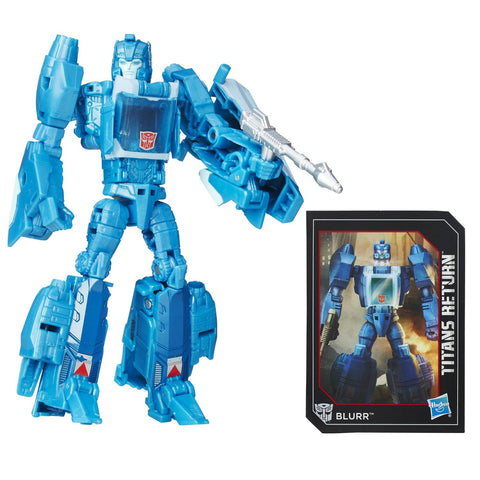 Transformers Generations Titan Deluxe Blurr Action Figure