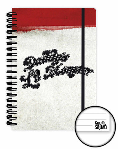 Suicide Squad Daddys Lil Monster A5 Notebook