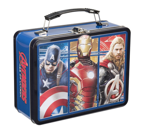 Marvel Avengers Age of Ultron Tin Tote, Large, Multicolored