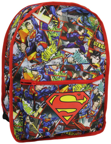 Superman Reversible Blue Backpack