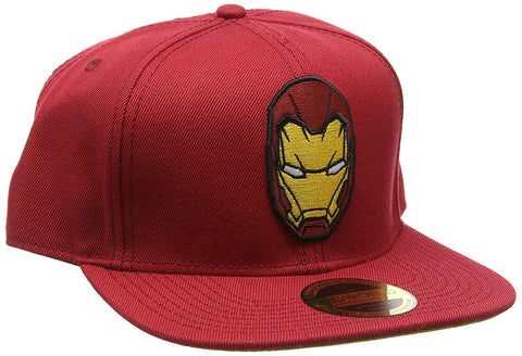 Iron Man Mask Cap Red