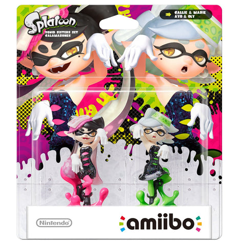 Amiibo Splatoon Callie & Marie 2 Pack