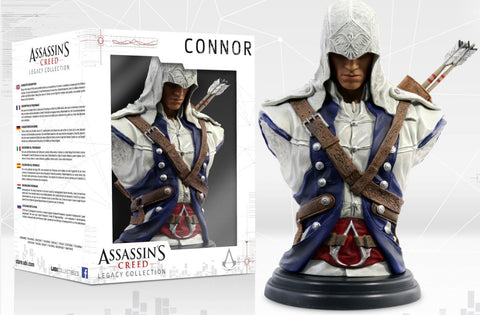 Assassins Creed 3 Connor Bust Figure