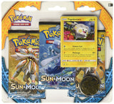 Pokemon TCG Sun & Moon 3 Pack Booster Blister