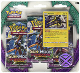 Pokemon TCG Sun & Moon 2 Guardians Rising 3 Pack
